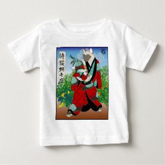 Cats in Kimono: Samurai Gardeners -- Snails Baby T-Shirt