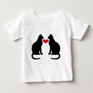 Cats In Love Baby T-Shirt