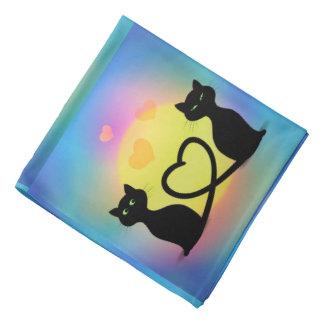 Cats in Love Bandana