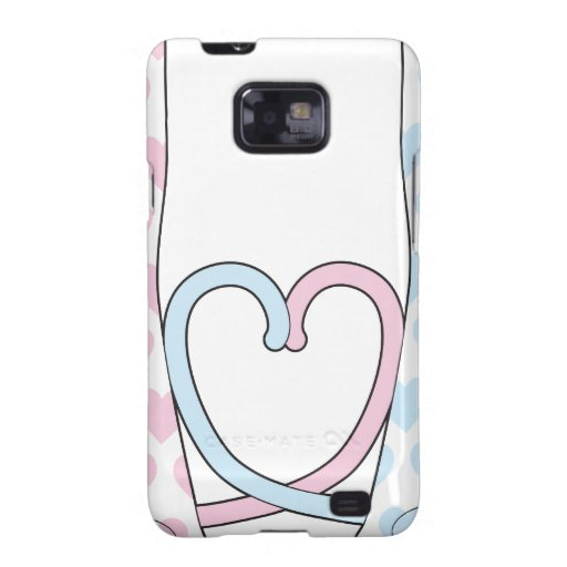 Cats in Love Samsung Galaxy S2 Cover
