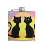 Cats in Love Flasks