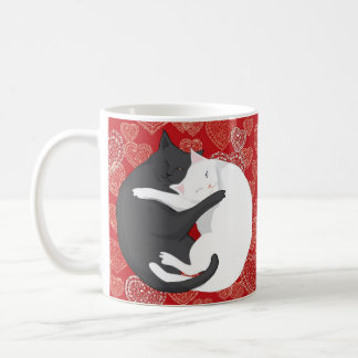 Cats in Love: Paulie & Angie... Lovers Coffee Mug