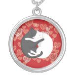 Cats in Love: Paulie & Angie (lover's pendant)