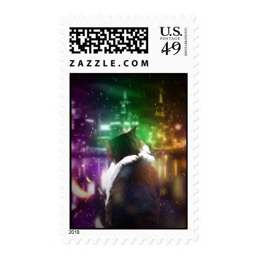 Cats in Love Stamps
