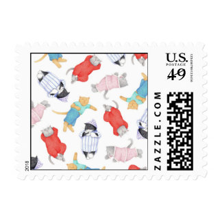 Cats in Pajamas 1st Class 1oz Stamps ( .45)