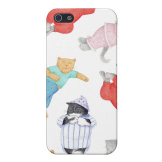 Cats in Pajamas iphone 4 Case