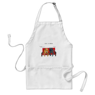 Cats in Rehab videogames Adult Apron