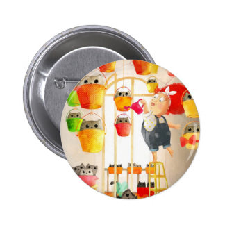 Cats in The Attic Pinback Buttons