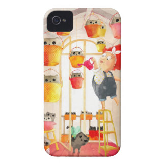 Cats in The Attic iPhone 4 Covers