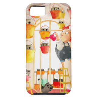 Cats in The Attic iPhone 5 Covers