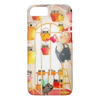 Cats in The Attic iPhone 7 Case