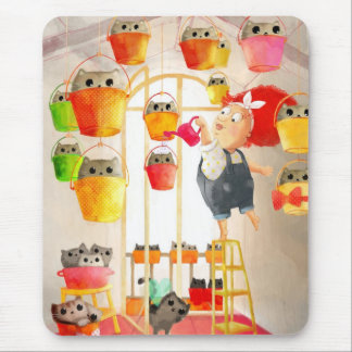 Cats in The Attic Mouse Pad