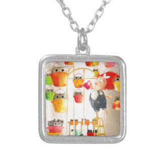 Cats in The Attic Necklace