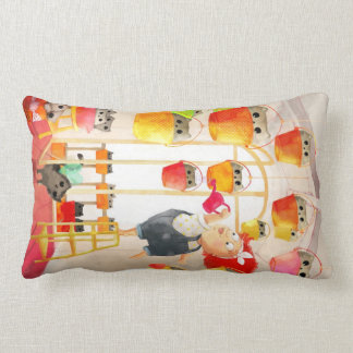Cats in The Attic Throw Pillows