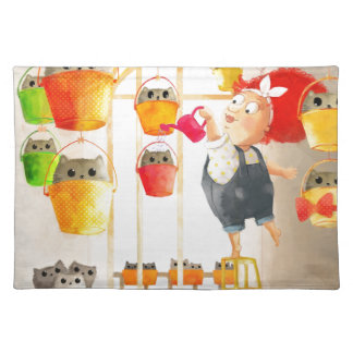 Cats in The Attic Place Mat
