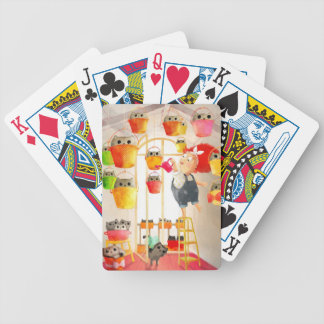 Cats in The Attic Poker Cards