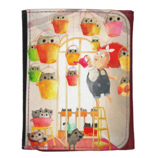 Cats in The Attic Wallets