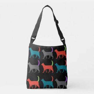 Cats in the bag crossbody bag