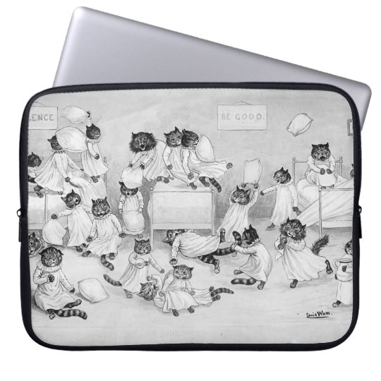 Cats in the Dormitory Laptop Sleeve