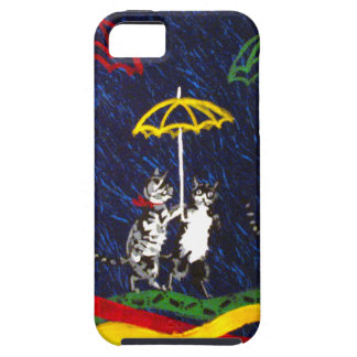 Cats in the Rain iPhone 5 Cover