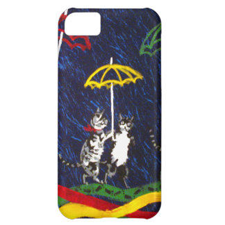 Cats in the Rain iPhone 5C Covers
