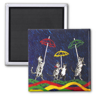 Cats in the Rain Magnet