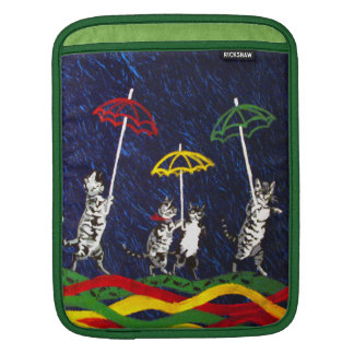 Cats in the Rain Sleeve For iPads