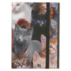 Cats Ipad Air Case With No Kickstand at Zazzle