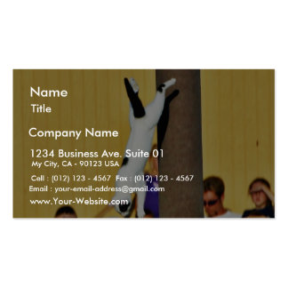 Cats Jumping Business Card