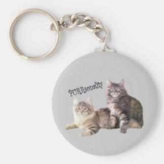 Cats Keychain PURRsonality