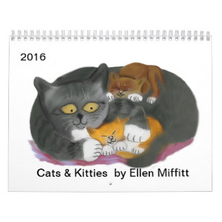 Cats & Kitties Calendar