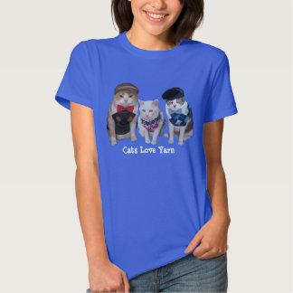 Cats/Kitties Love Yarn Shirt