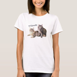 Cats Ladies T-Shirt PURRsonality
