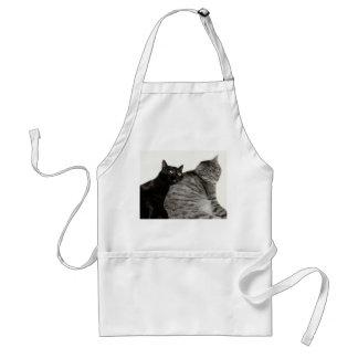 Cats love adult apron