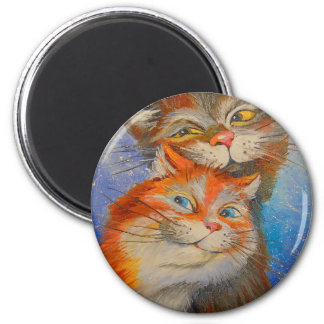 Cats love magnet