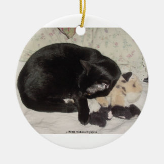 CATS LOVE TOYS, TOO! CHRISTMAS TREE ORNAMENT