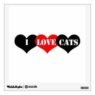 Cats Love Wall Sticker