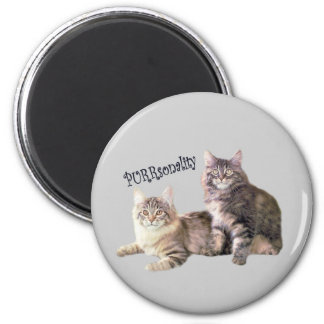 Cats Magnet PURRsonality