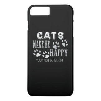 Cats make me happy! iPhone 8 plus/7 plus case