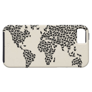 Cats Map of the World Map iPhone SE/5/5s Case