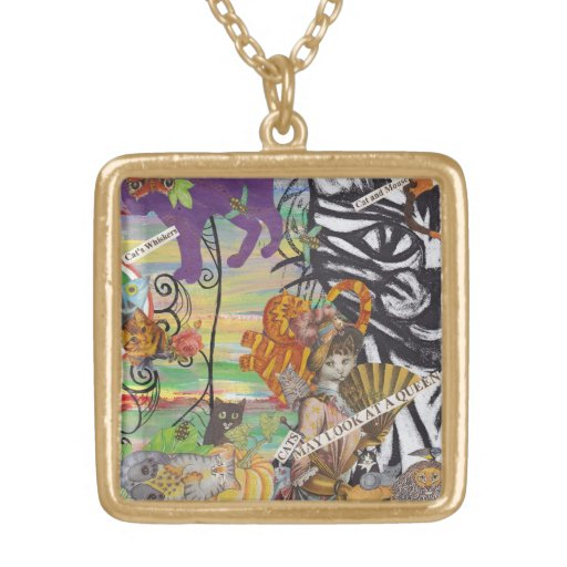 Cats May Look at a Queen Necklace