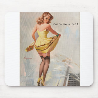 Cat's Meow Doll Promotional Mouse Pad