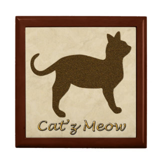 Cat's Meow Keepsake Box