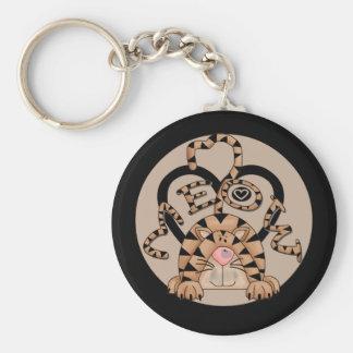 Cat's Meow Keychain