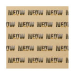 Cat's Meow Wood Wall Art