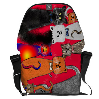 CATS MESSENGER BAG