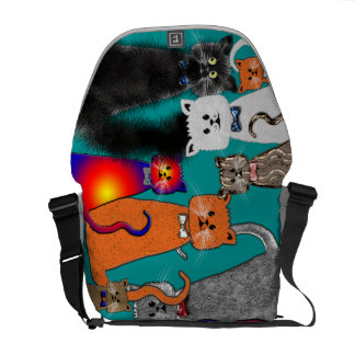 CATS COURIER BAG