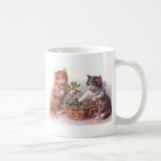 Cats & Mistletoe Coffee Mug