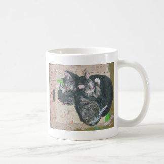 cats - mowglie pip and cleo.jpg coffee mug