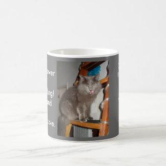 Cat's Classic White Coffee Mug